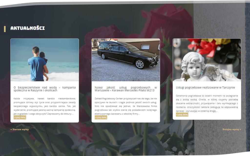 Blog zakład pogrzebowy Cerber
